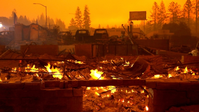 List: California's Most Destructive Wildfires