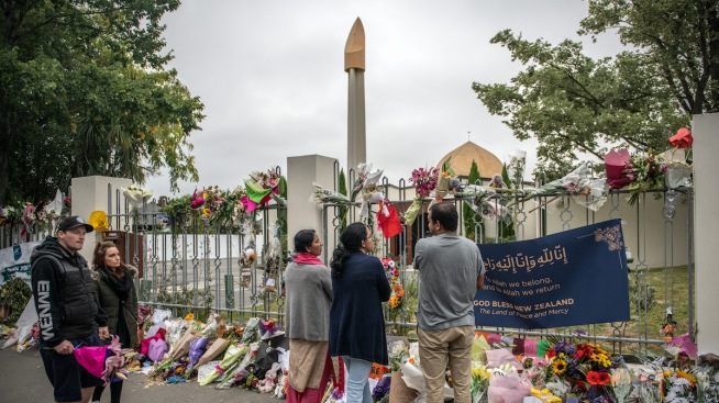 Family of Slain Boy Visits Christchurch Mosque as It Reopens