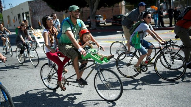 CicLAvia's Route Gets Expanded, Takes Fig