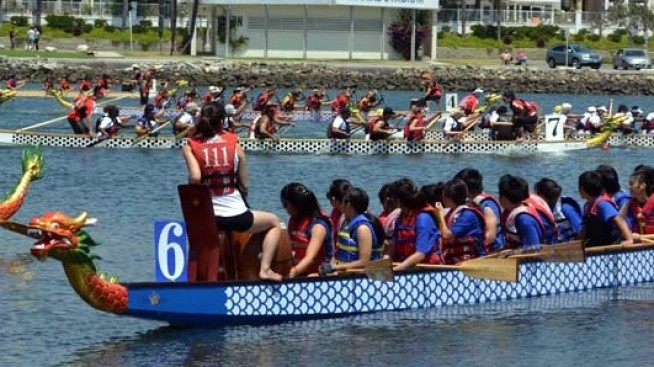 Here Come the Dragon Boats