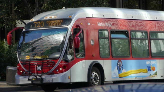Open Seats on Free Bus, Rail Rides During 405 Closure