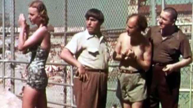 Rare Three Stooges Color Film Discovered