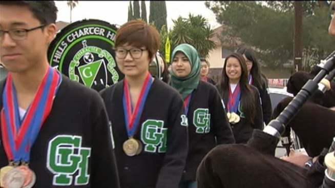 "Granada Hills HS Academic Decathlon Team's 3rd Nat'l Win ""Absolutely Amazing"""