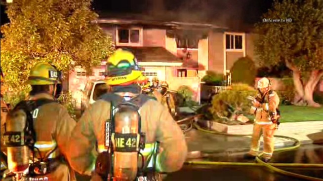 Neighbor Saves Elderly Couple From House Blaze