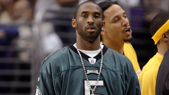 Kobe as Wide Receiver Could Have Helped the Eagles