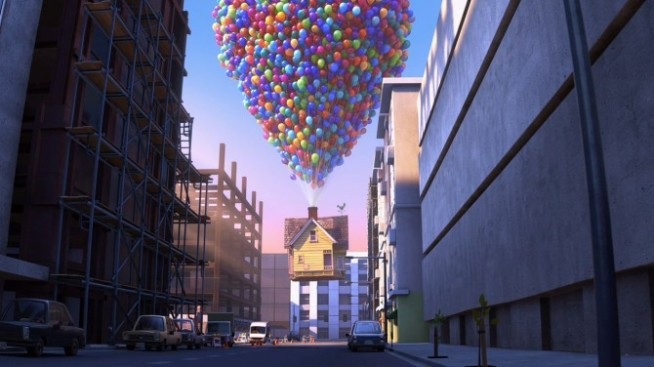 "Own Pixar's ""Up"" House"
