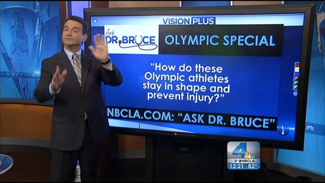 In today's Ask Dr. Bruce segment, Dr. Bruce Hensel answers your health questions regarding an itchy throat and preventing injury.