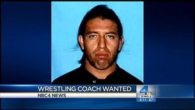 The mother of wrestling coach Herbert Daniel Oritz, who has been officially named a suspect in the alleged sexual assaults of two boys, tells NBC4 sister-station Telemundo she believes her son is dead and he was being chased before he went missing. Sheriff's officials say that's news to investigators which haven't been able to track down the coach. Gordon Tokumatsu reports from Rosemead for the NBC4 News at 4 p.m. on Sept. 5, 2012.