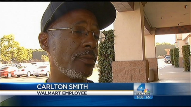 Some 100 demonstrators picketed the Walmart store in Paramount on Friday as part of a nationwide protest against what they call poor working conditions with little pay and no benefits. The demonstration ended with arrests, but Walmart says it had no impact on Black Friday shoppers. Angie Crouch reports from Paramount for the NBC4 News at 6 p.m. on Nov. 23, 2012.