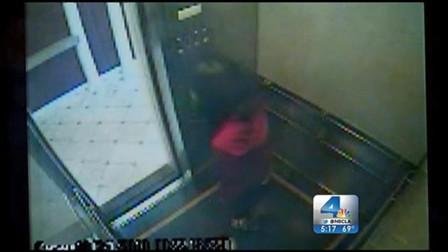 Newly released surveillance video shows Elisa Lam acting bizarrely inside an elevator at a Downtown Los Angeles hotel shortly before the 21-year-old disappeared last month. Gordon Tokumatsu reports from Downtown Los Angeles for the NBC4 News at 5 p.m. on Feb. 14, 2013.