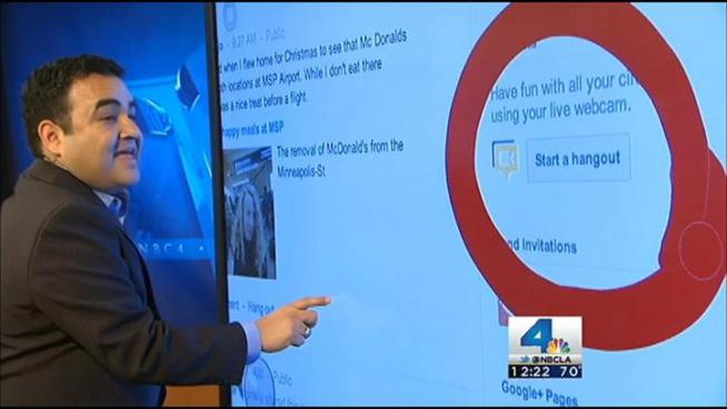 NBC4's Mekahlo Medina walks you through how to make a Google+ account and join live video chats during the NBC4 News at Noon.