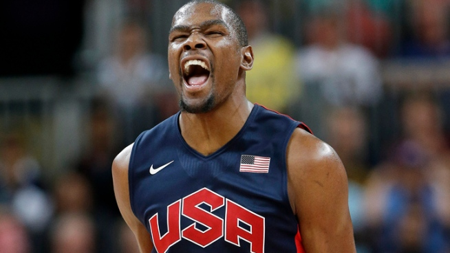 Kevin Durant Goes from Gold Medal to Red Carpet