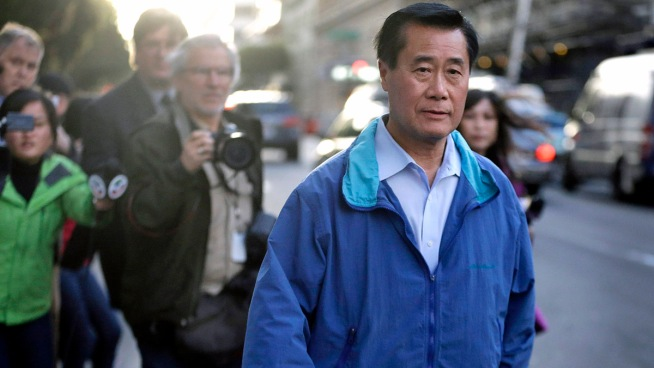 A day after he was arrested in a federal sweep, California state Sen. Leland Yee on Thursday announced through his attorney that he is withdrawing his candidacy for secretary of state. Chase Cain and Stephanie Chuang report.
