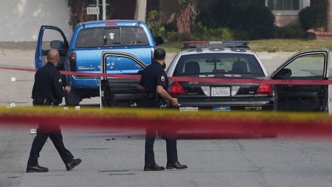 After the LAPD asked two newspaper delivery women to pay taxes on a truck the department vowed to donate to them, the victims – who were shot at more than 100 times during a frenzied manhunt for Christopher Dorner – rejected the replacement truck, worth more than $30,000. Hetty Chang reports for the NBC4 News at 6 p.m. on March 11, 2013.