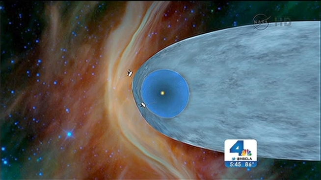 """NASA's Voyager 1 Makes """"Historic Leap"""" Out of Solar System ..."""