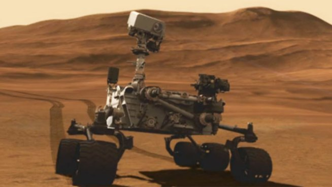Scientists say the Mars Rover Curiosity is doing exactly what it was designed to do and NASA engineers are ecstatic. The science laboratory is designed to pull samples from Mars' surface to determine if life may have existed on the red planet. Images have already started coming in. Conan Nolan reports from La Canada Flintridge for the NBC4 News at 4 p.m. on August 6, 2012.