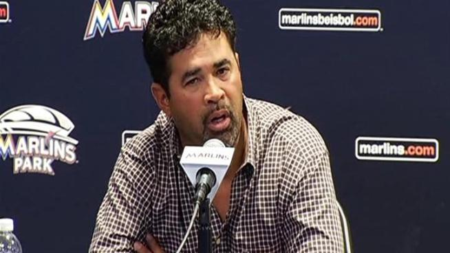 Ozzie Guillen has been suspended by the Miami Marlins for five games for comments made about Cuban dictator Fidel Castro, the team announced Tuesday. The suspension was handed down shortly before Guillen apologized for the comments at a press conference at Marlins Park. Guillen started his press conference with a statement in Spanish, saying he feels embarrassed and sad for the comments.