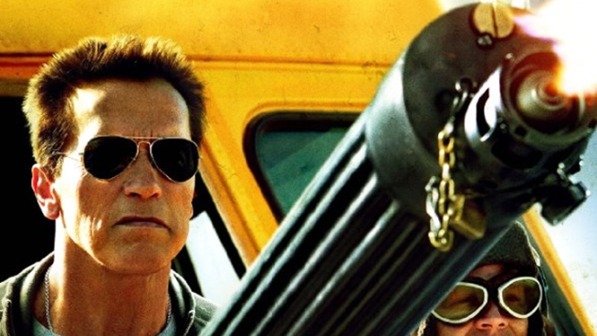 Arnold Schwarzenegger and Johnny Knoxville discuss their new action film