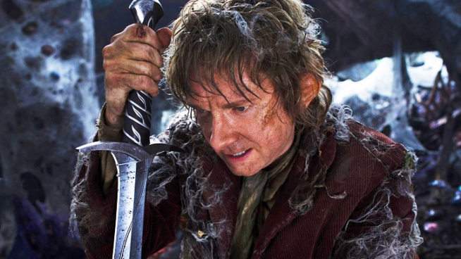 From director Peter Jackson comes the story of Bilbo Baggins, who is drafted by Gandolf to go on an adventure with 13 dwarves led by  Thorin Oakenshield, a journey that will find him face to face with Gollum, and ultimately in possession of the most powerful ring in the world.