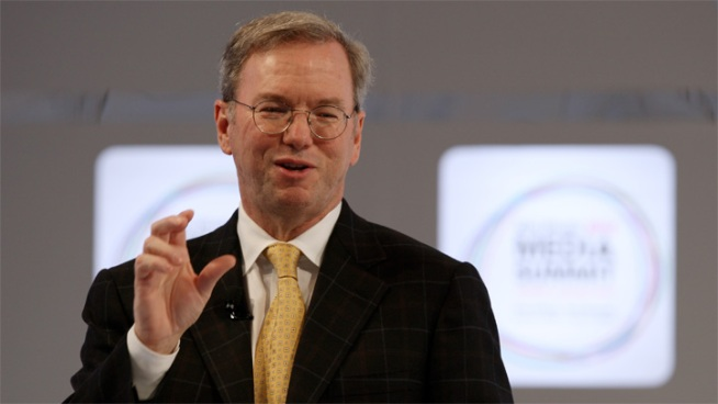 Google's Eric Schmidt Scores $6 Million Bonus