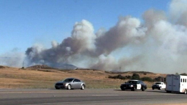 Update: El Cajon Brush Fire