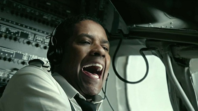 Denzel Washington stars as a pilot who makes a miraculous landing only to have his heroism called into question when a blood test reveals there was quite a bit of booze in his system. Based on a true story, co-starring John Goodman, Don Cheadle and Melissa Leo.
