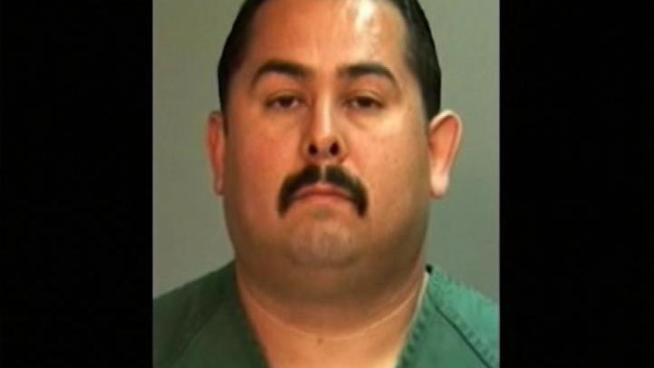 Manuel Ramos faces a second-degree murder charge in the beating death of a homeless man.  He's released on bail.