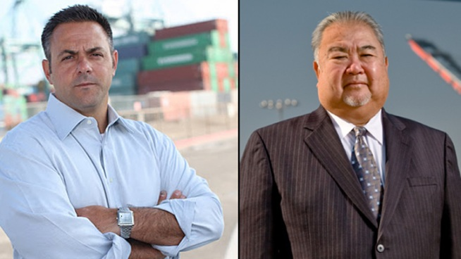 The race to fill the 15th District LA City Council seat pits political novice and LAPD officer, Joe Buscaino, against political veteran and state Assemblyman Warren Furutani.