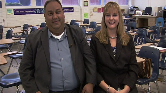 A year after they won $266 million in the lottery, Jacki and Gilbert Cisneros are creating a new scholarship fund for students in Pico Rivera.  And that's just the beginning.