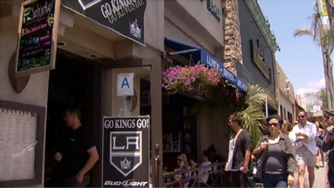 LA Kings at Home in the South Bay
