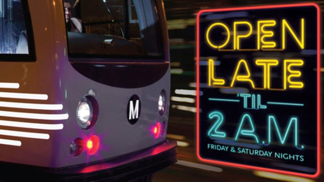 Metro's Night-Owl Hours Begin Friday