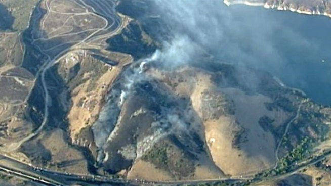 OC Blaze Burns 25 Acres