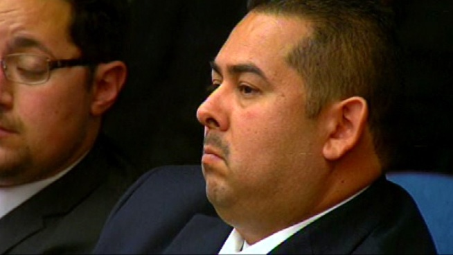 Defense attorneys for Fullerton police officers charged in the July 2011 beating death of Kelly Thomas are asking for more time to comb through a new, nearly 14-minute long audio recording captured on a digital device worn by Officer Manuel Ramos before he is seen with Thomas in surveillance video. Vikki Vargas reports from the Santa Ana Courthouse in Santa Ana for the NBC4 News at 5 p.m. on June 26, 2012.