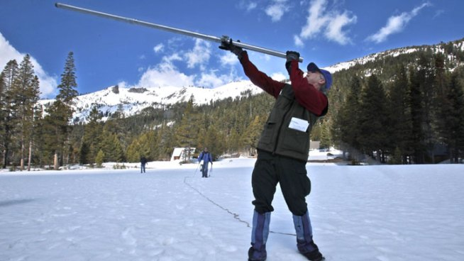 CA Snow Survey Shows Good Start for Water Supply