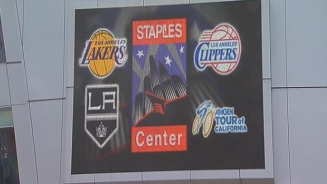 Downtown LA will be the focus of the sports world this weekend. The Lakers, Clippers and Kings all have playoff games at Staples Center, the combination of which could create a traffic nightmare. Patrick Healy reports from Downtown LA for the NBC4 News at 5 p.m. on May 17, 2012.