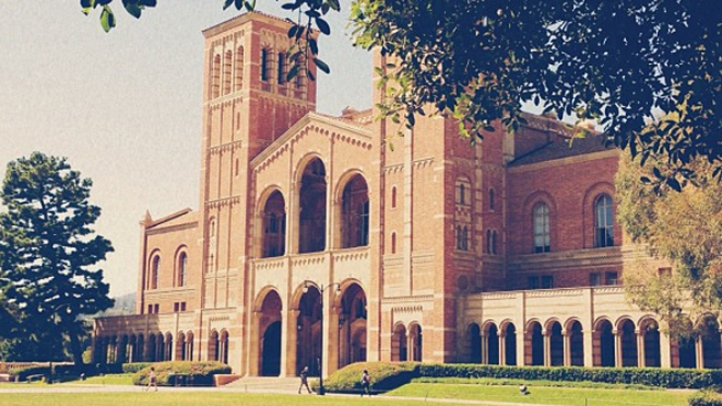 A UCLA student was arrested on suspicion of attempted murder after allegedly trying to strangle another student at a frat party. Police say the suspect, a 20-year-old man, and the female victim knew each other, but the motive for the attack is not clear. Beverly White reports for the NBC4 News at 11 p.m. on March 8, 2013.