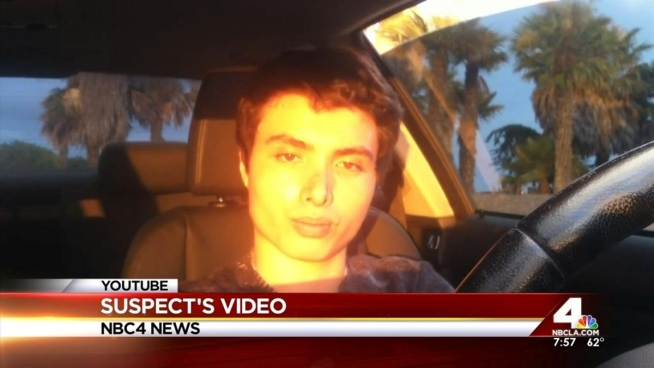 Sheriff's department personnel are investigating a video in which a man who identifies himself as Elliot Rodger details plans for
