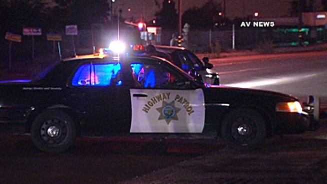 A man died after being hit by a motorist who fled from the scene at California Street and Highland Avenue in Muscoy. Antonio Castelan reports from the scene for the NBC4 News at Noon on Oct. 10, 2012.