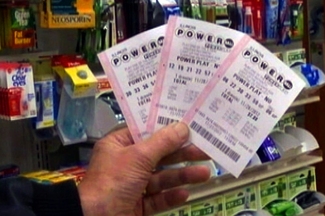 The jackpot for tonight's Powerball winner is an estimated $500 million, the second highest in lottery history, and hopeful buyers across the country have been flooding stores to get in on the action. The drawing will take place tonight at 10:59 p.m. Eastern time.