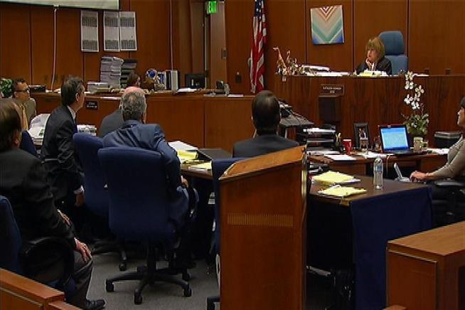 Five former city council members and Bell's ex-mayor were charged with misappropriation of public funds.  On Thursday a juror in their case was replaced.  Patrick Healy reports for the NBC4 News at Noon on Feb. 28, 2013.