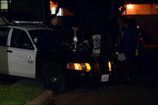 Police are trying to figure out why human remains turned up in a Santa Ana backyard. Janet Kwak reports for the NBC4 News at 11 p.m. on Sunday, Jan. 27, 2013.