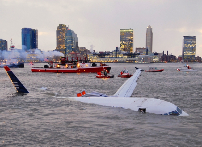 Witness: I Saw the Plane Coming Down the Hudson!
