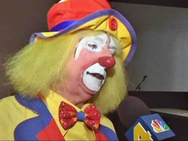 It takes more than face paint and big shoes to make a clown.