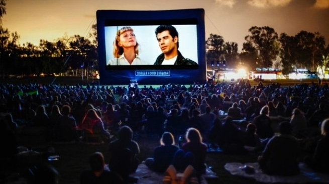 Street Food Cinema: Outdoor Movies Reveal