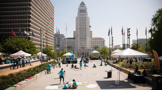 The Big Draw LA: SoCal Makes Art