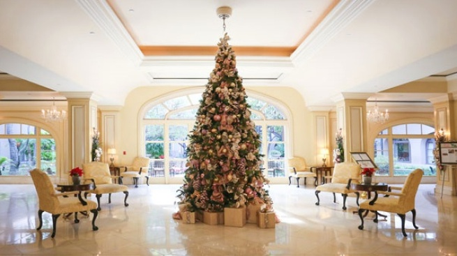 The Holidays Arrive at The Langham Huntington, Pasadena