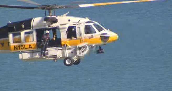 [LA] Search Continues for Swimmer Missing in Palos Verdes Peninsula