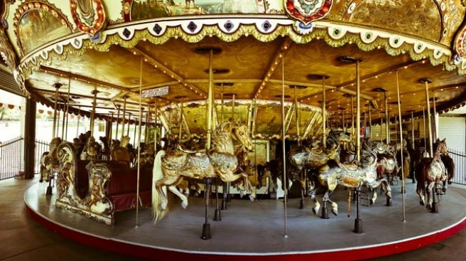 Griffith Park's Merry-Go-Round Gallops for National Carousel Day