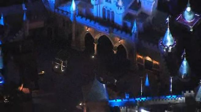 Poop attack sends cops to Disneyland