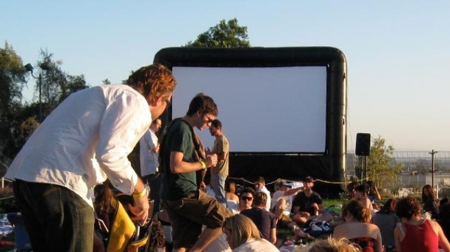 Cool Alfresco Films: Barnsdall + Cinefamily